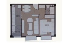 公寓60平米