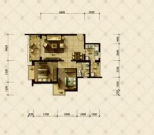 2室1厅1卫88m²精装修