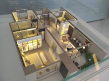 兴盛时光2室2厅1卫2000元/月80m²精装修出租